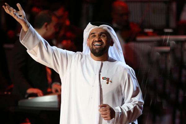 حسين الجسمي يفتتح الحفلات العربية في