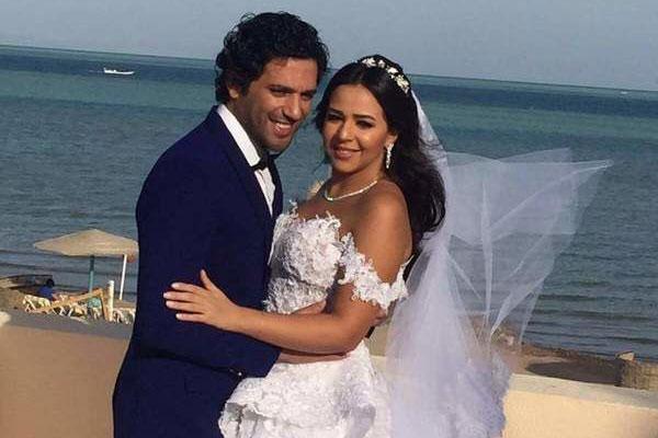 زفاف حسن وإيمي بنقلٍ حي عبر