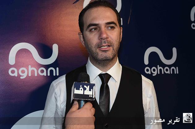 وائل جسّار متحدّثاً لكاميرا إيلاف