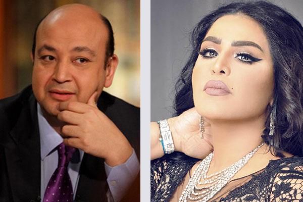 أحلام تهاجم عمرو أديب: لا أتشرف بلقائك