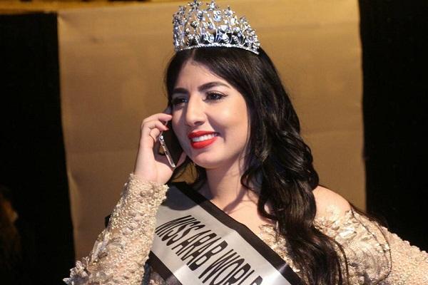شيرين حسني تفوز بلقب ملكة جمال المغرب