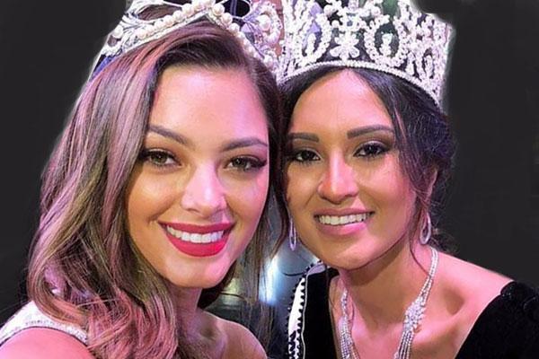 تتويج ناريمان خالد ملكة جمال مصر للكون