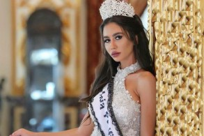 ممثلة لبنان في مسابقة ملكة جمال الارض سلوى عكر