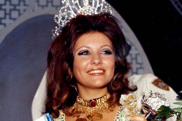 جورجينا رزق ملكة جمال العالم لعام 1971