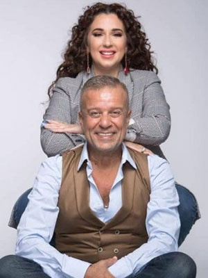 شريف منير يقدِّم مع ابنته شارة برنامجهما الجديد