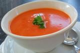 حساء الفليفلة الحمراء