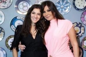 إليسا مع أنجيلا السيسي