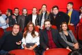 كريم عبد العزيز يحتفل بفيلمه الكوميدي مع النجوم