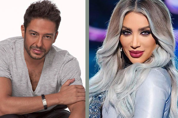 مايا دياب ومحمد حماقي