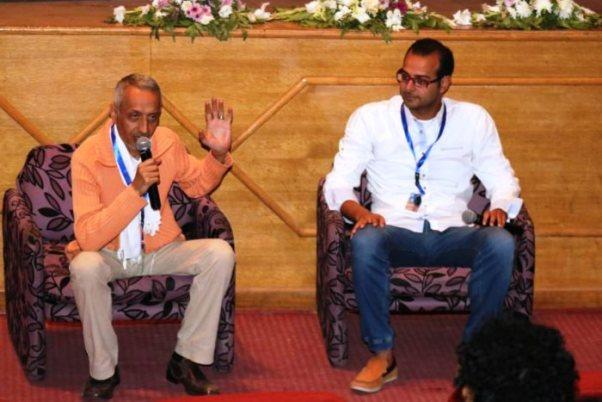 خلال ندوة نقاش الفيلم