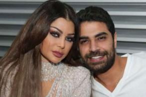 محمد الوزيري مع هيفاء وهبي