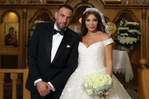 ديانا رزق وزوجها كمال بشارات