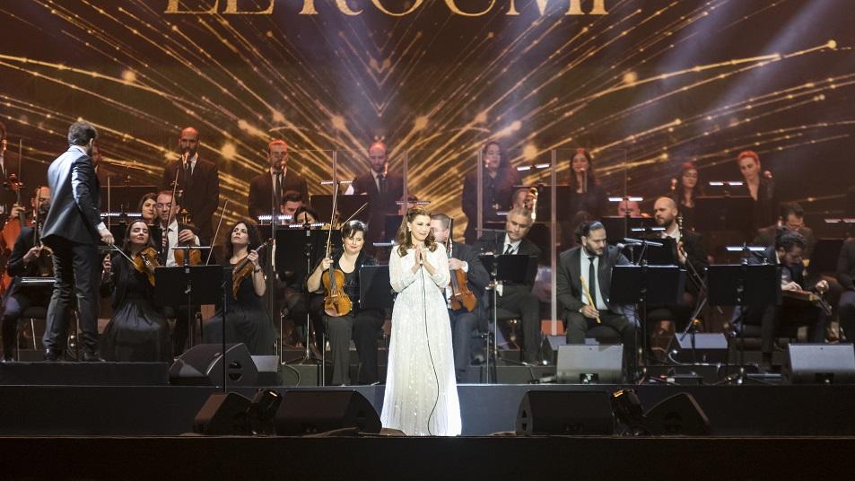ماجدة الرومي تختم موسم موسيقى أبوظبي الكلاسيكية وتأسر قلوب جمهورها بأداء ساحر
