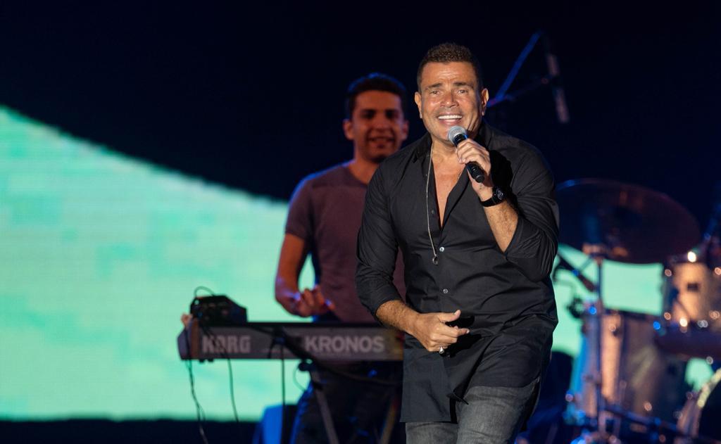 عمرو دياب يُحيي أول حفل غنائي في Jeddah Super Dome