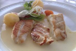 شرائح السمك المقلية