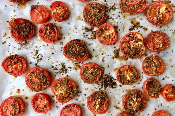 الطماطم المشوية