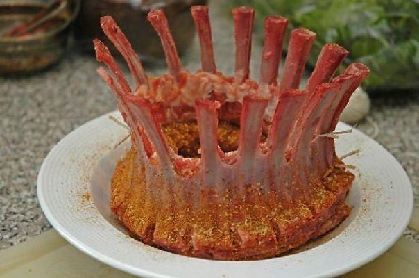 تاج لحم الضأن(أضلع الغنم)