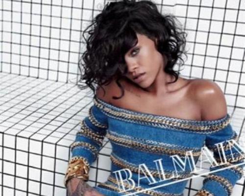 ريهانا في واحدة من صور الحملة الإعلانية الجديدة