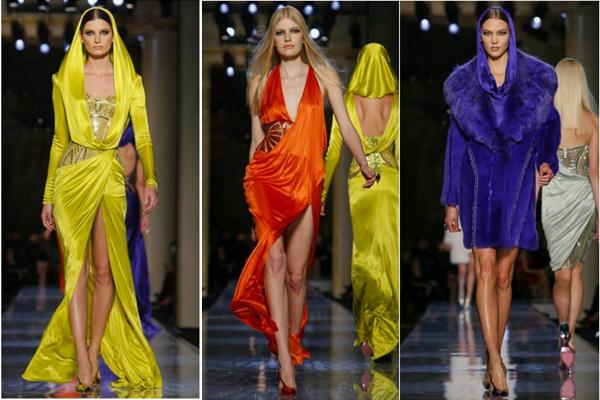 تصاميم فيرساتشي في افتتاح أسبوع الموضة الباريسي