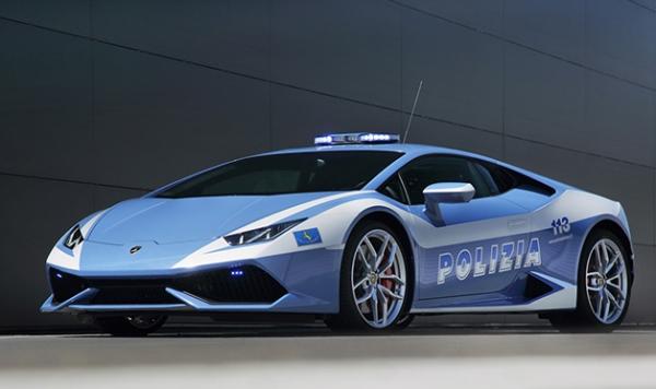الشرطة الإيطالية ولا مبورغيني