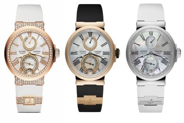 أوليس ناردين تطلق ساعات Lady Marine Chronometer