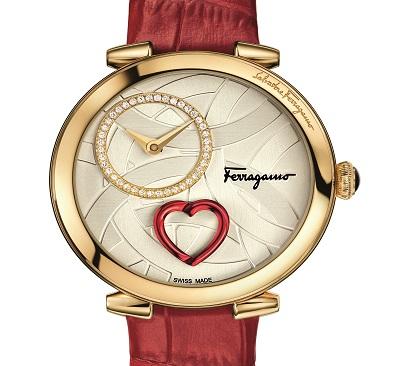 فيراغامو تطلق ساعة Cuore Ferragamo بمناسبة عيد الحب