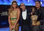 المغربية غيثة الحمامصي بفستان من الذهب