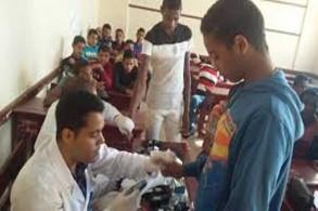 حملات للعلاج مرض الأنيميا والسمنة في مصر