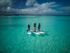 4 سيدات يشاركن برحلة تجديف لاستكشاف تهديدات البيئة في المالديف