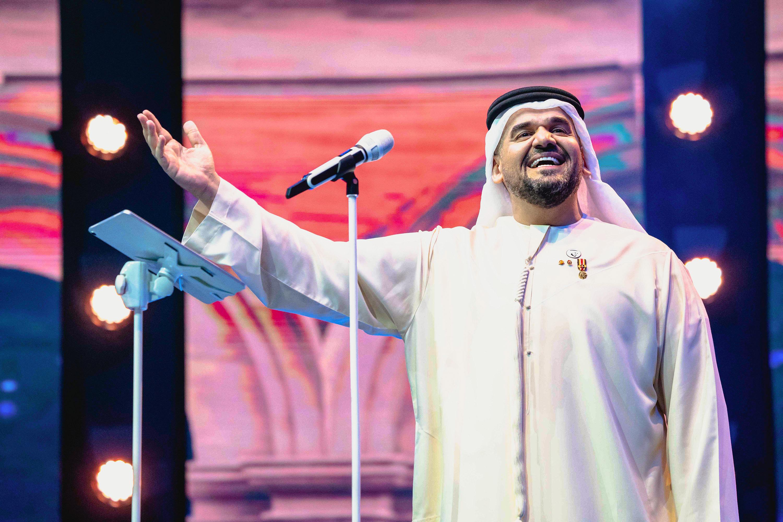 حسين الجسمي يحتفل بعيد الأضحى مع جمهوره في جزيرة ياس