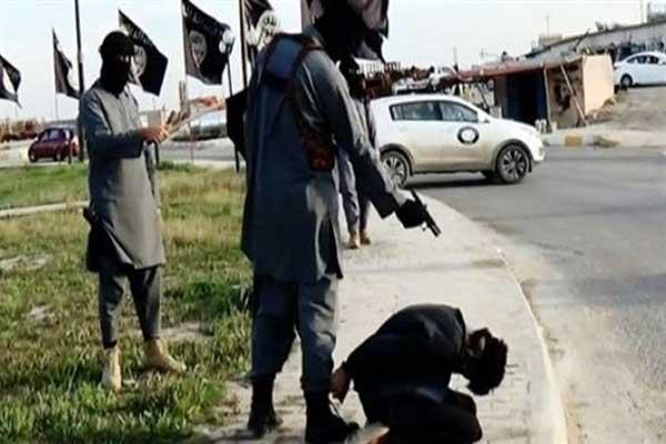 إحدى عمليات الإعدام السابقة التي نفذها تنظيم داعش