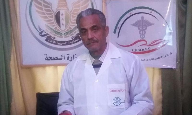 العميد الطبيب معتز حتيتاني قضى بعد اعتقاله من طرف النظام السوري في الغوطة