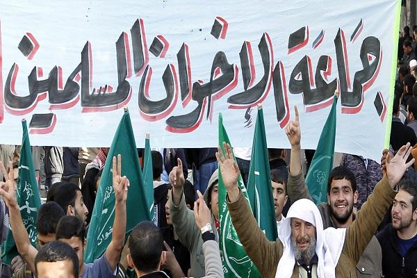 مجموعة من انصار جماعة الاخوان المسلمين