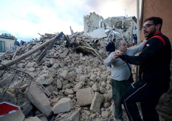زلزال سابق في ايطاليا- ارشيفية