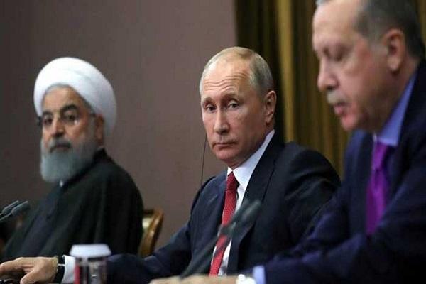 بوتين يتوسط روحاني واردوغان في آخر قمة