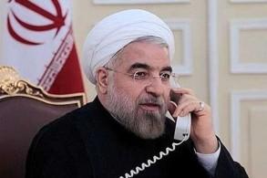 روحاني واتصال هاتفي مع أمير قطر
