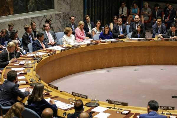 جلسة مجلس الأمن الدولي حول الوضع في بورما بتاريخ 28 أغسطس 2018