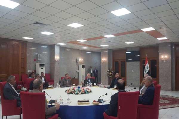قادة الكتلة البرلمانية العراقية الأكبر خلال أول اجتماع لهم