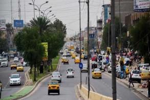 أحد الشوارع في البصرة