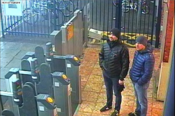 صورة للروسيين المتهمين في محطة قطارات سالزبوري البريطانية