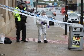 شرطة جنوب يوركشاير في مكان الحادث