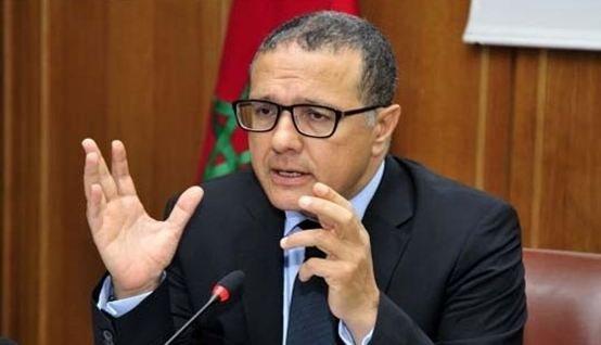 محمد بوسعيد وزير الاقتصاد والمالية سابقا