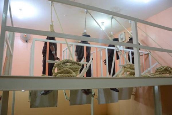 تنفيذ حكم الاعدام بمدانين بالارهاب في العراق