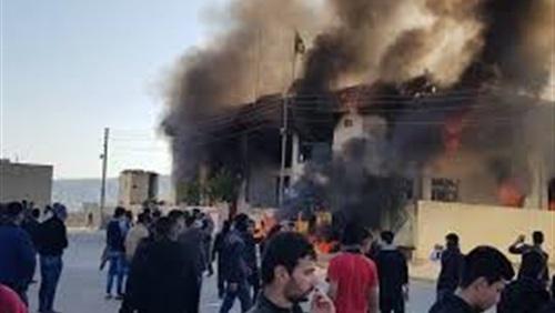 قصف ايراني لمقر الحزب الديمقراطي الكردستاني الايراني المعارض بشمال العراق