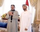 العاهل المغربي يحضر مجلس الشيخ محمد بن زايد في ابوظبي