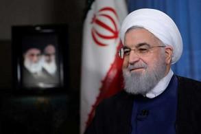 صورة للرئيس حسن روحاني في طهران نشرتها الرئاسة الإيرانية  في 6 أغسطس 2018