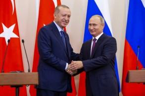 لن تكون هناك عملية عسكرية في إدلب السورية بعد أن تصافحا رئيسا تركيا وروسيا في سوتشي
