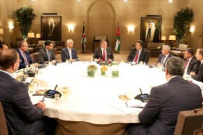 عبدالله الثاني متحدثا لمجلس نقابة الصحفيين