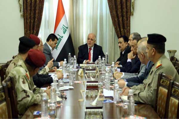 العبادي مترئسًا اجتماع المجلس الوزاري للأمن الوطني