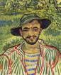 أخيرا عرفنا صاحب الإبتسامة الودود في أشهر لوحات فان كوخ!